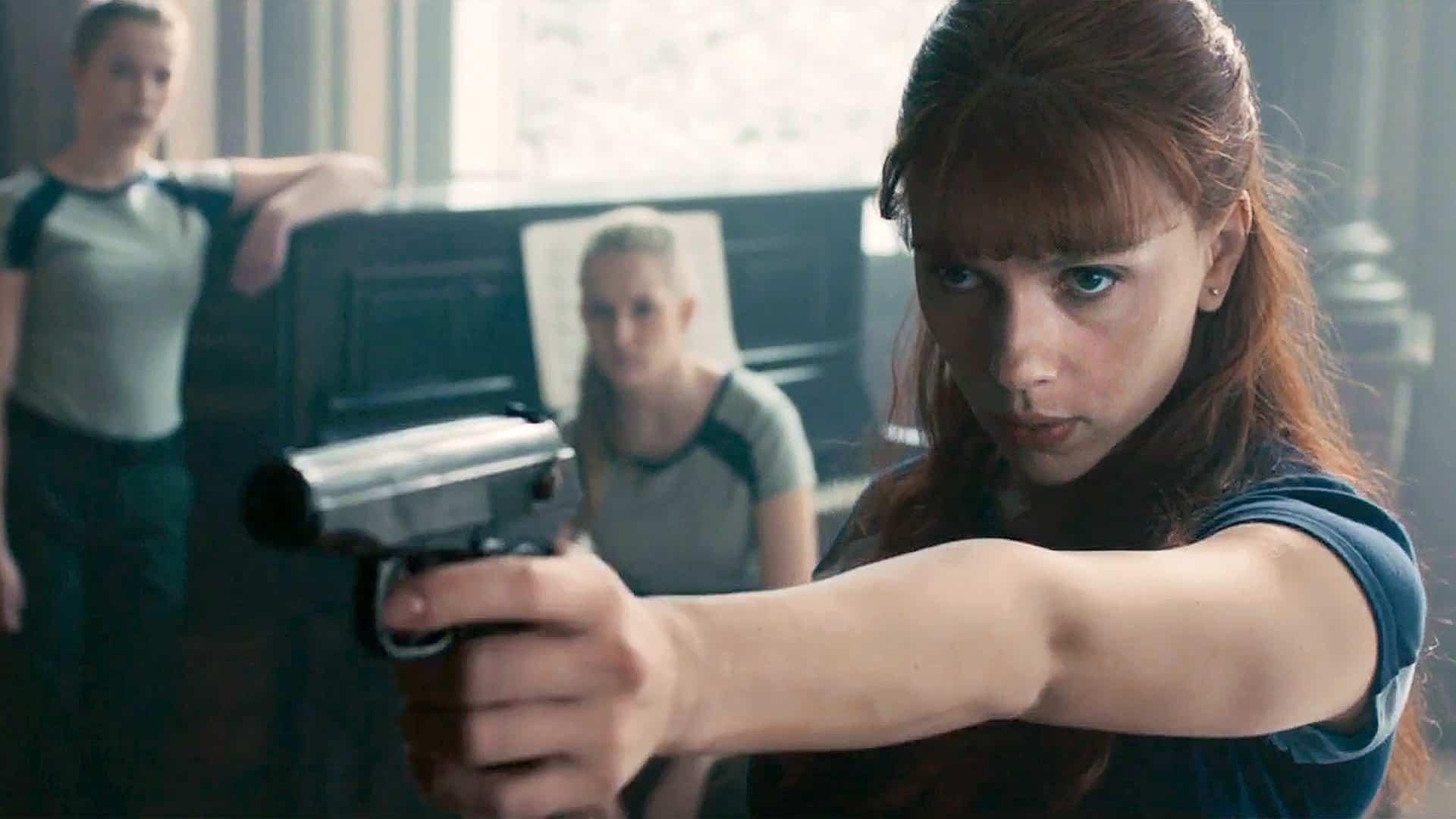 Fotky z natáčania Black Widow