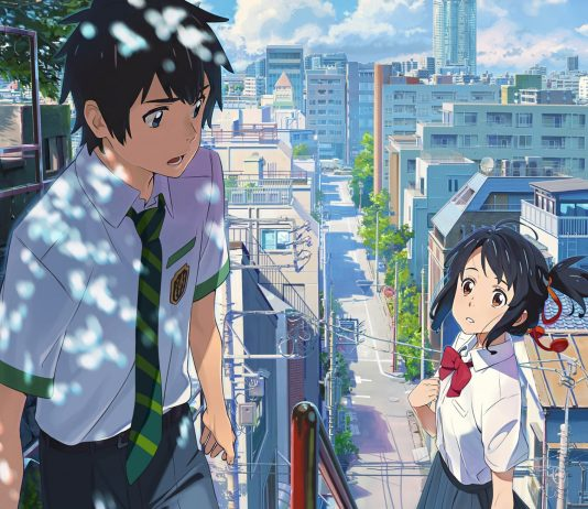 anime film your name Weathering With You