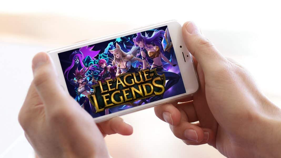 league of legends na mobil