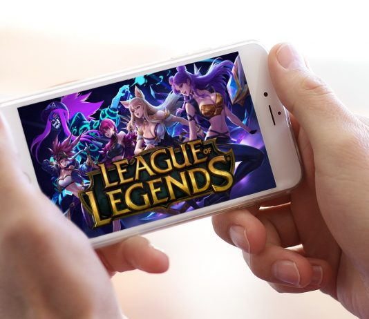 league of legends na mobil