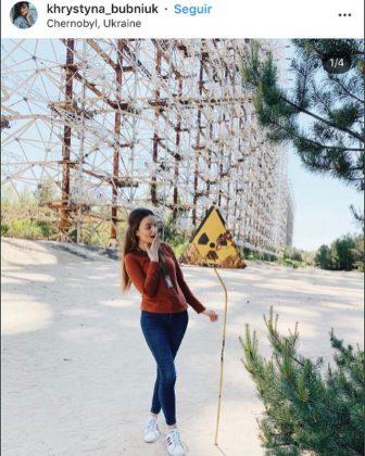 influencerky zamorili Černobyľ