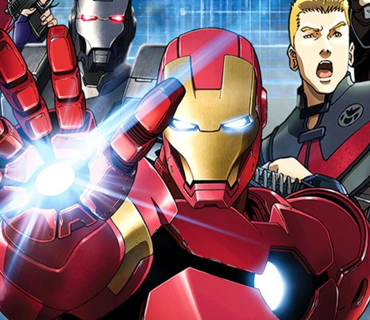 Marvel superhrdinovia v anime verzii
