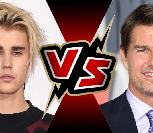 Tom Cruise vs Justin Bieber
