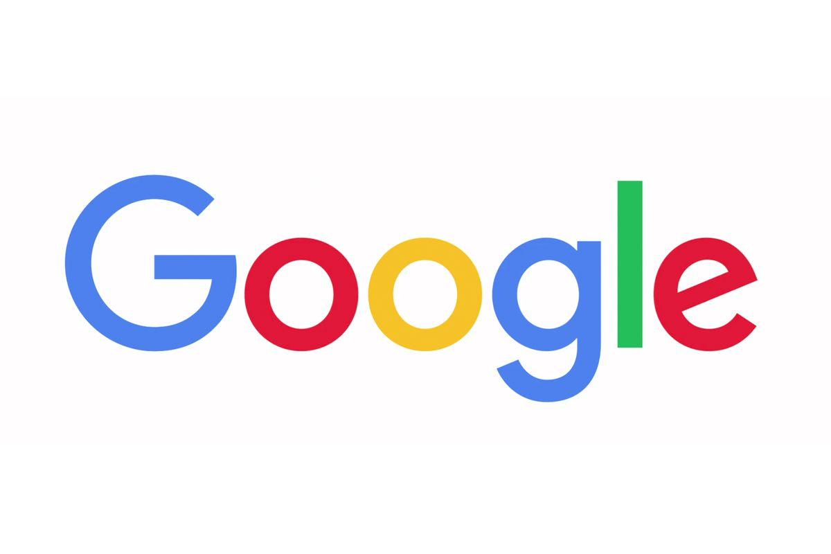 výpadok google logo