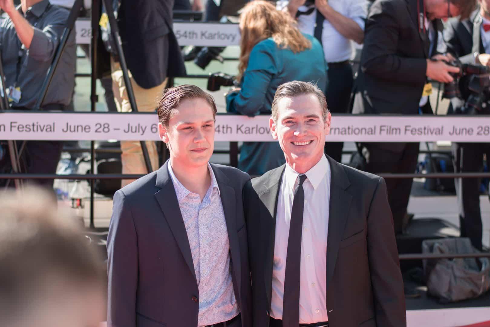 Americký herec Billy Crudup so synom.