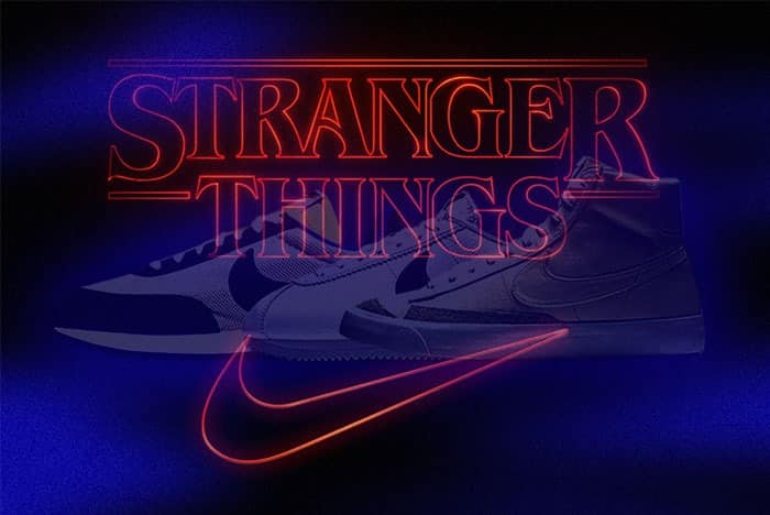 Nike a Stranger Things