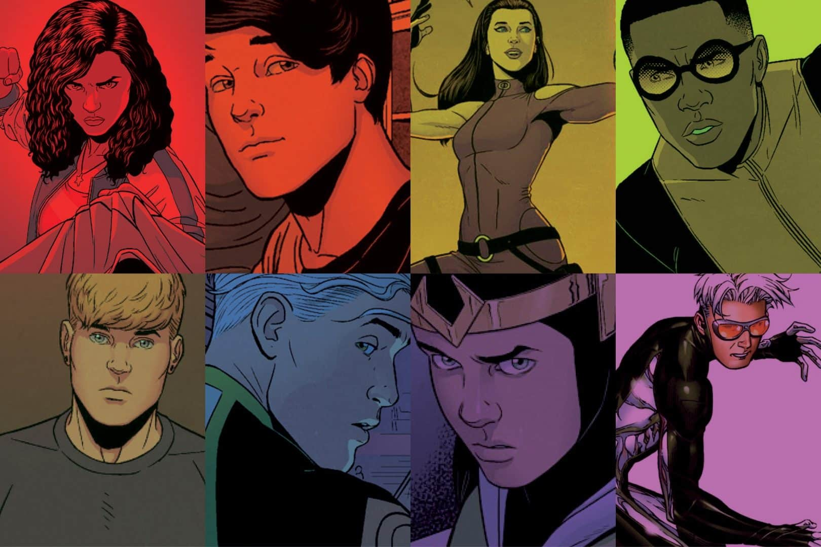 marvel cinematic universe Young Avengers