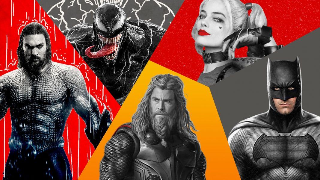 superhrdinské filmy