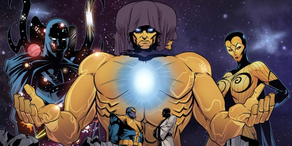 Thanos v Avengers