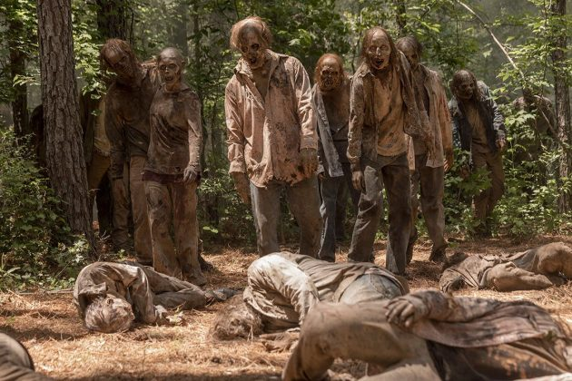 10. séria the walking dead
