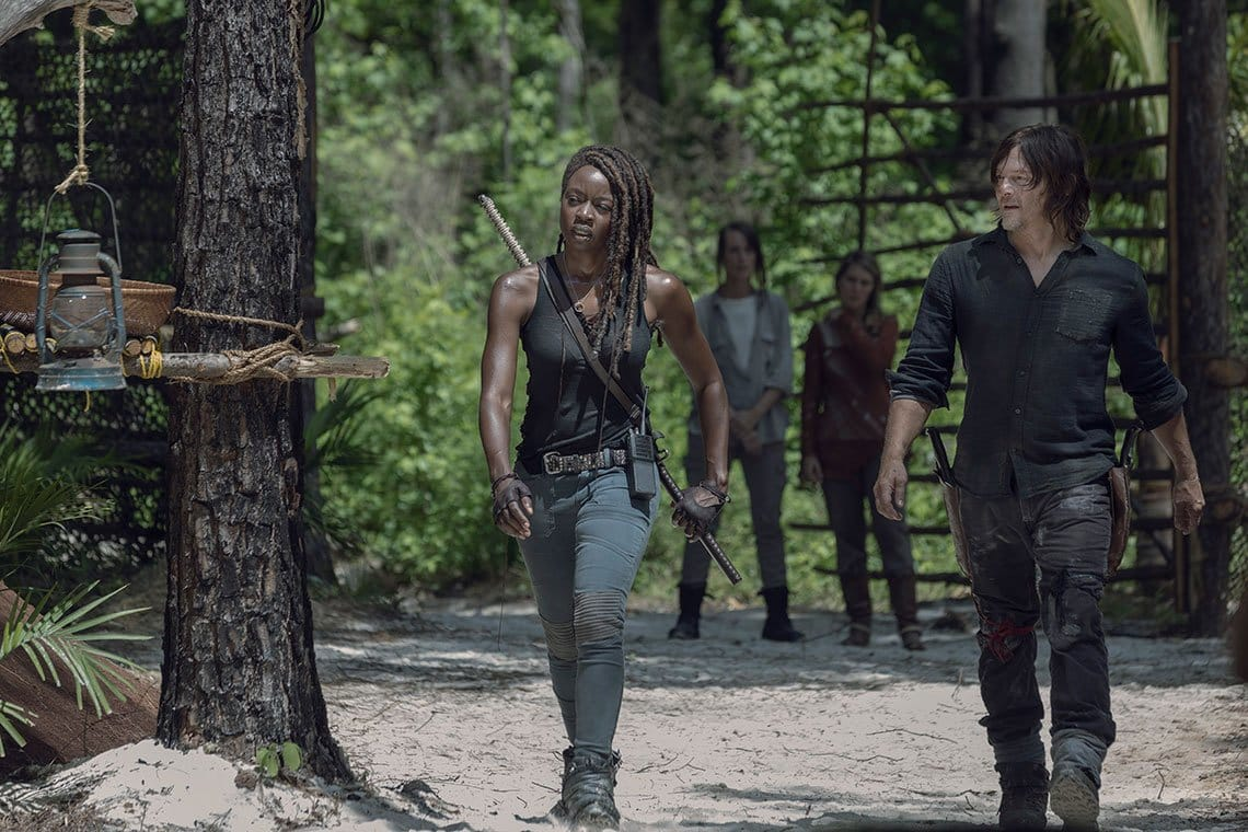 10. séria the walking dead