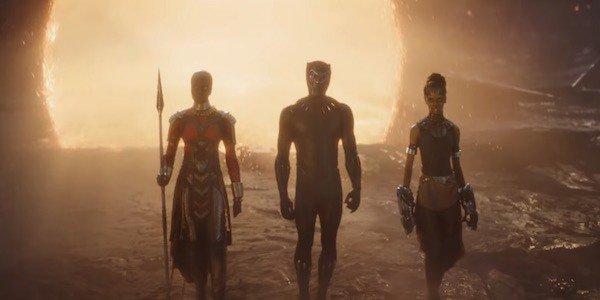 koniec avengers: endgame black panther portaly