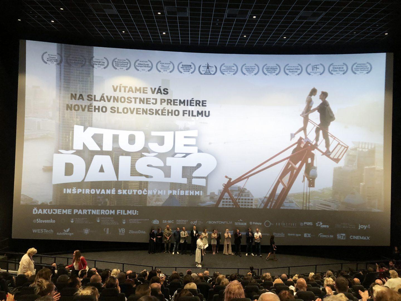 slovenský film kto je dalsi? premiera cinemax