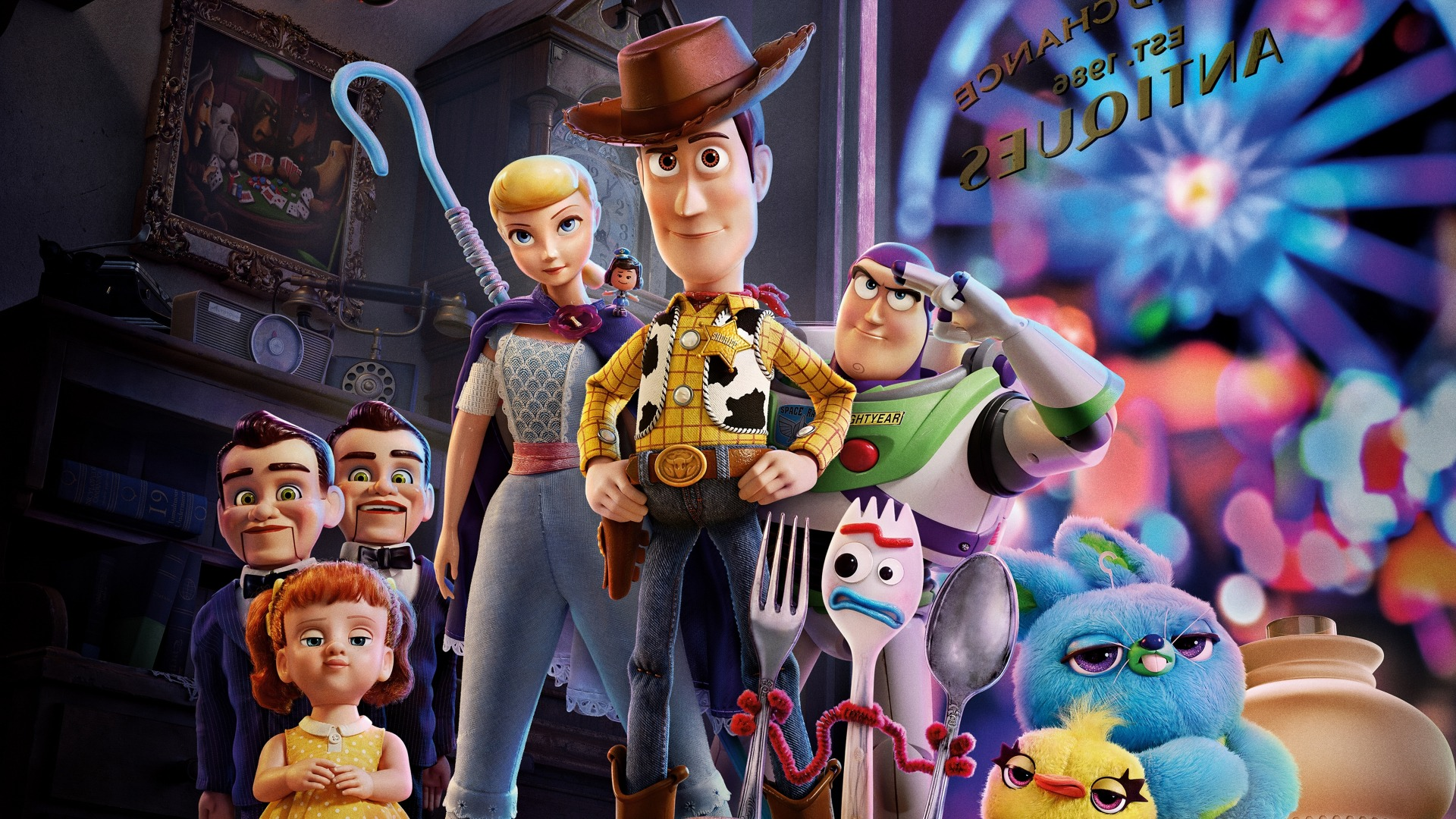 Toy Story 4 recenzia