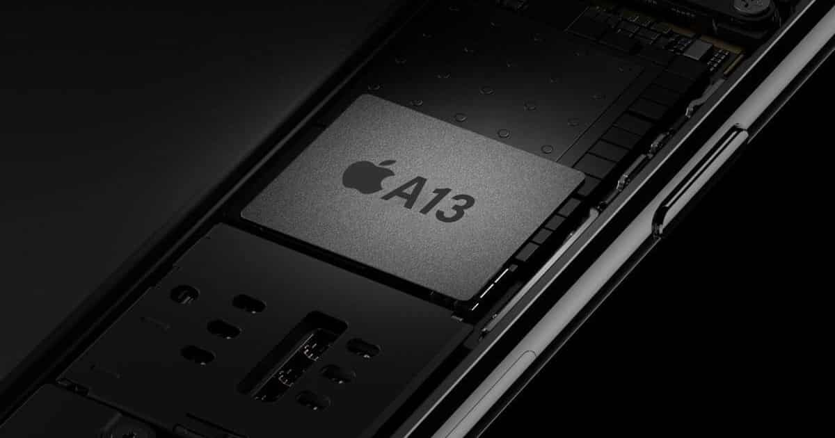 apple a13 iphone 11 chip cip procesor