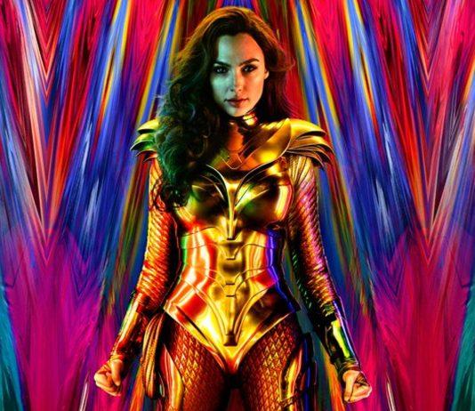 Fotka z natáčania Wonder Woman 1984