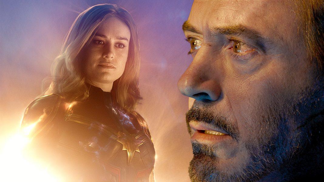 Ako Captain Marvel našla Tonyho Starka