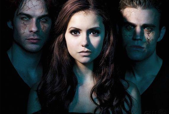 Damon, Elena a Stefan