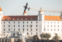 Letecká šou nad Bratislavou