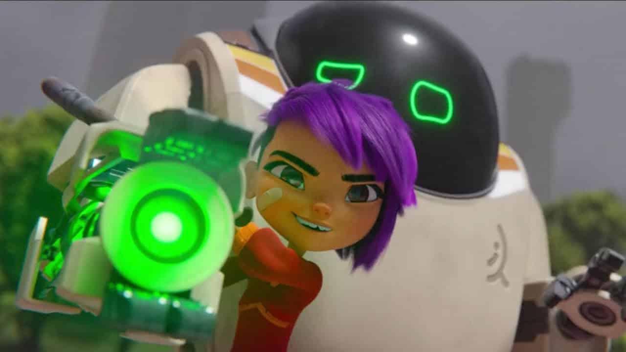 Mei a Robot