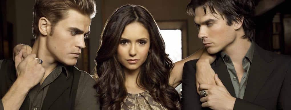 Stefan, Elena a Damon