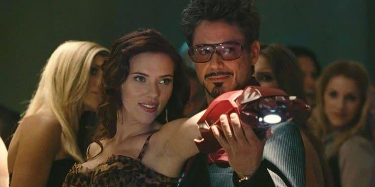 Iron Man a Black Widow
