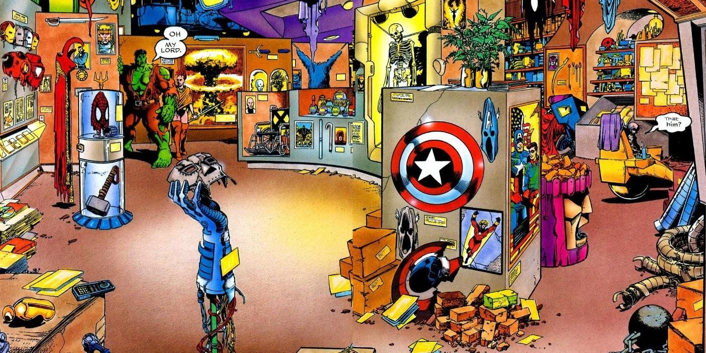 Avengers v MCU