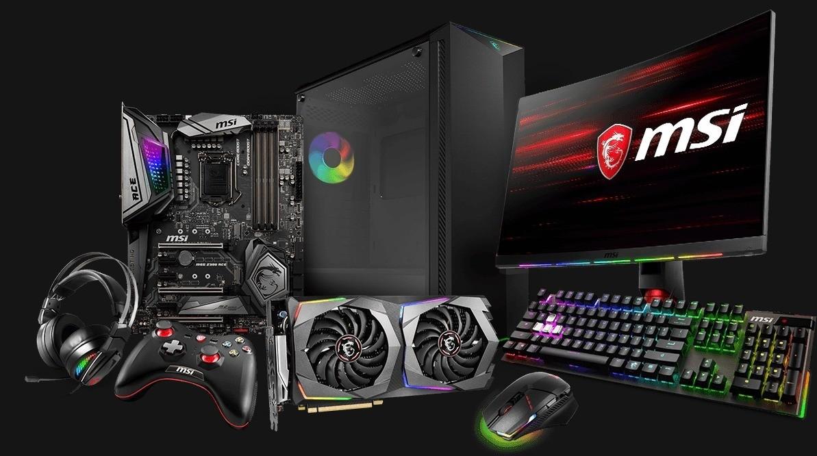 herný počítač a príslušenstvo