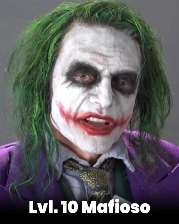 lvl 10 mafioso joker kviz