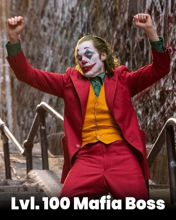 lvl 100 mafia boss joker kviz