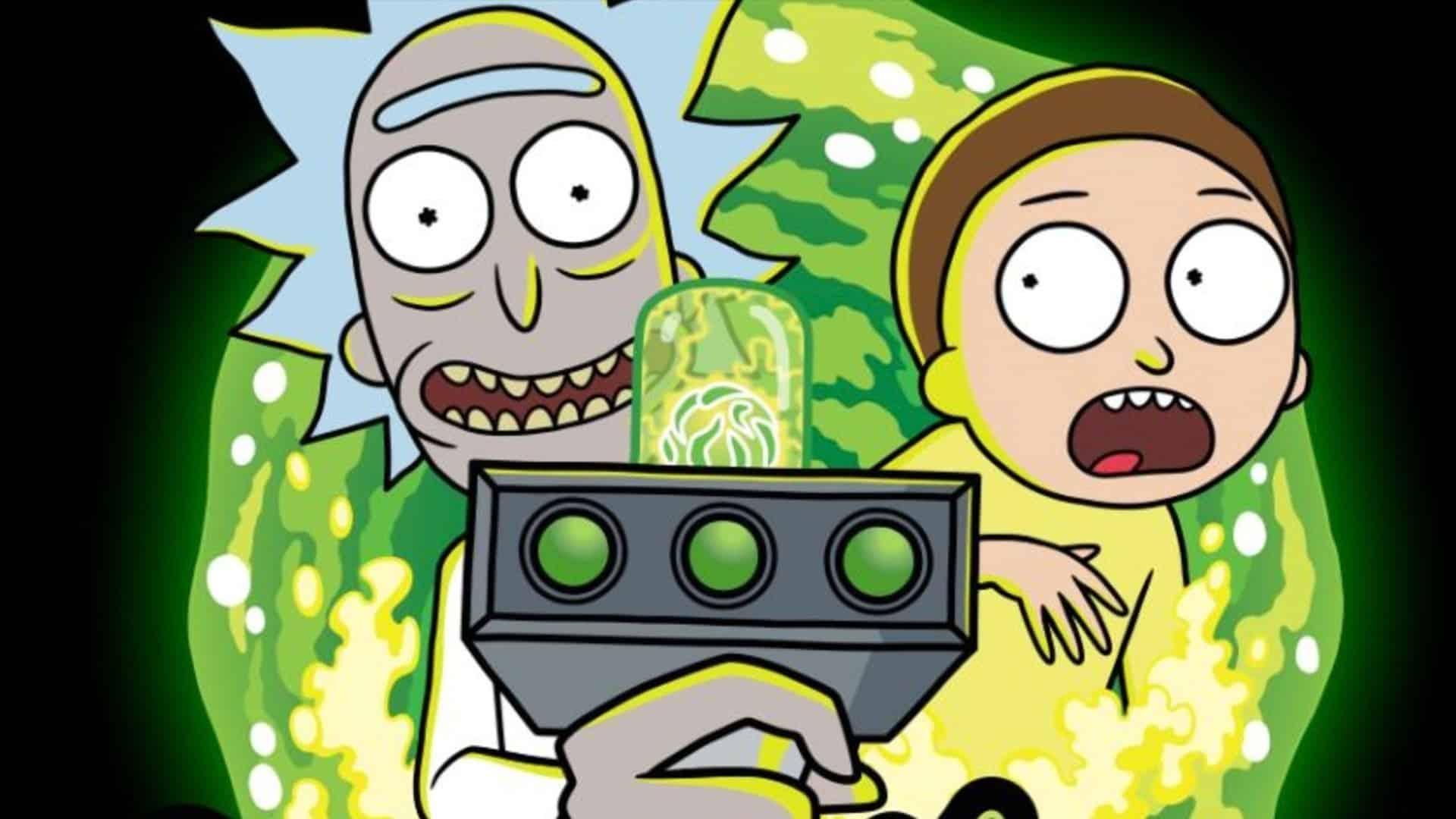 štvrtá séria Rick a Morty