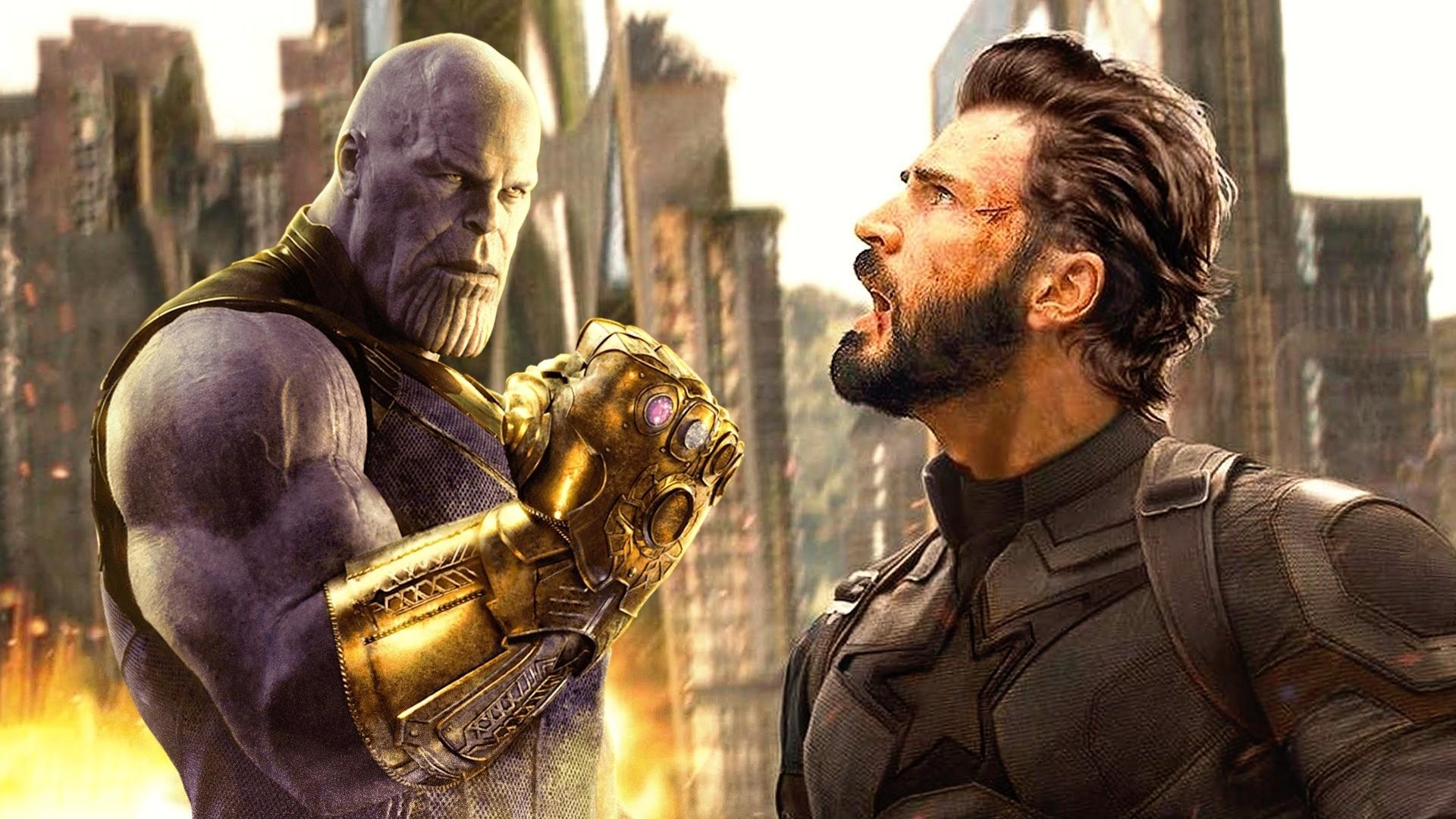 captain america v avengers infinity war