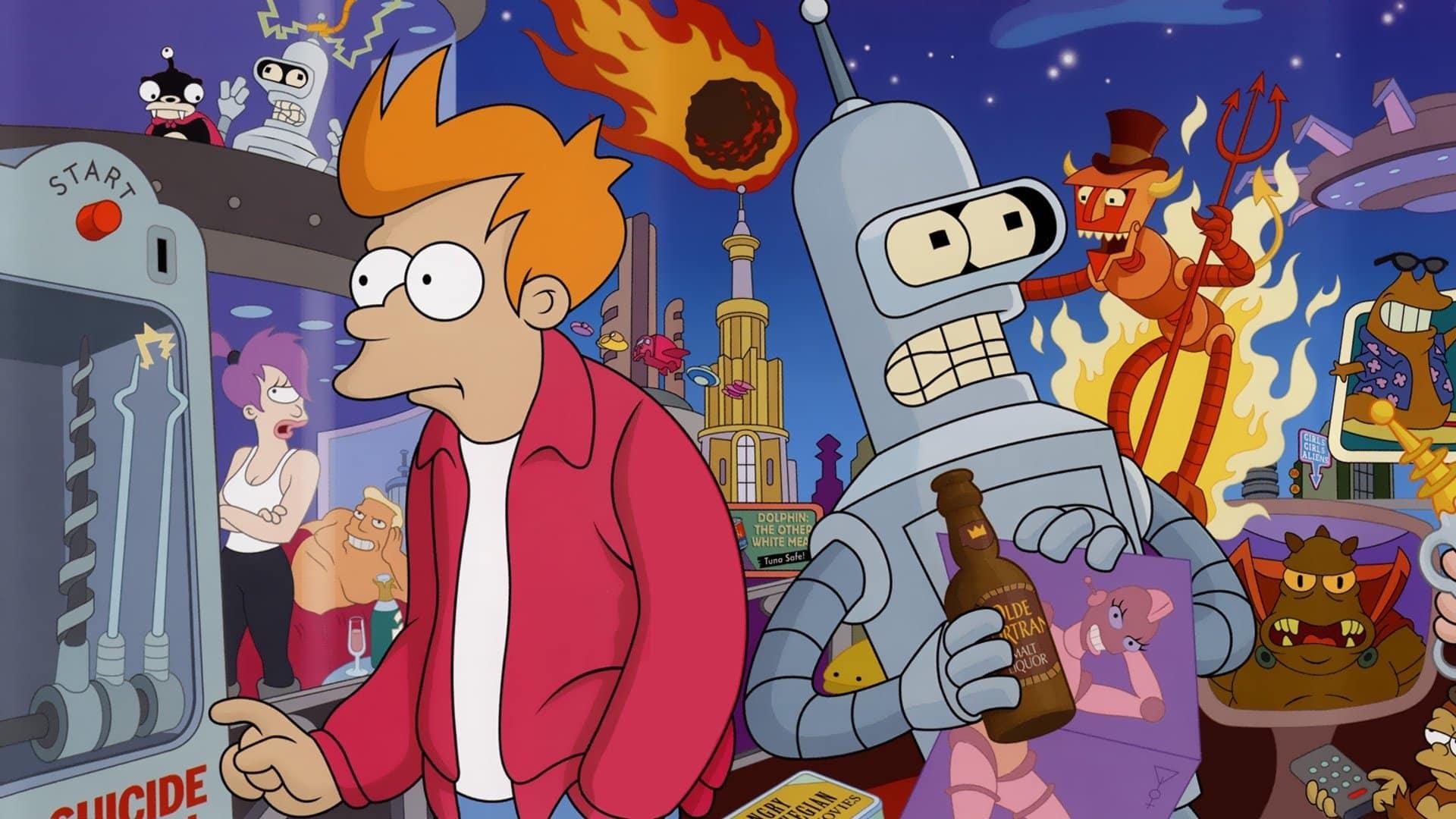 TIP na seriál: Futurama   Budúcnosť z pohľadu úžasného Matta Groeninga
