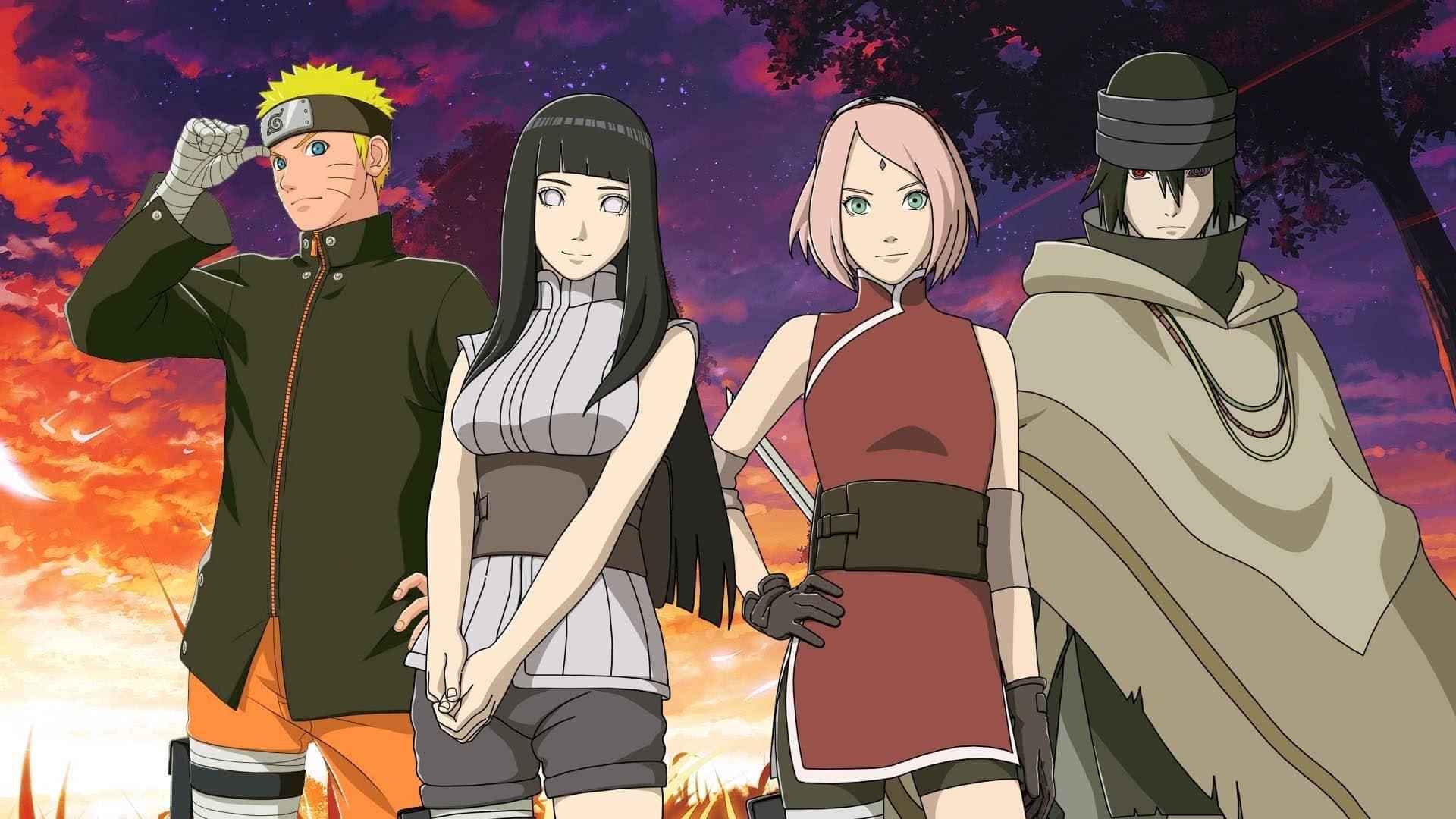 Naruto filmy