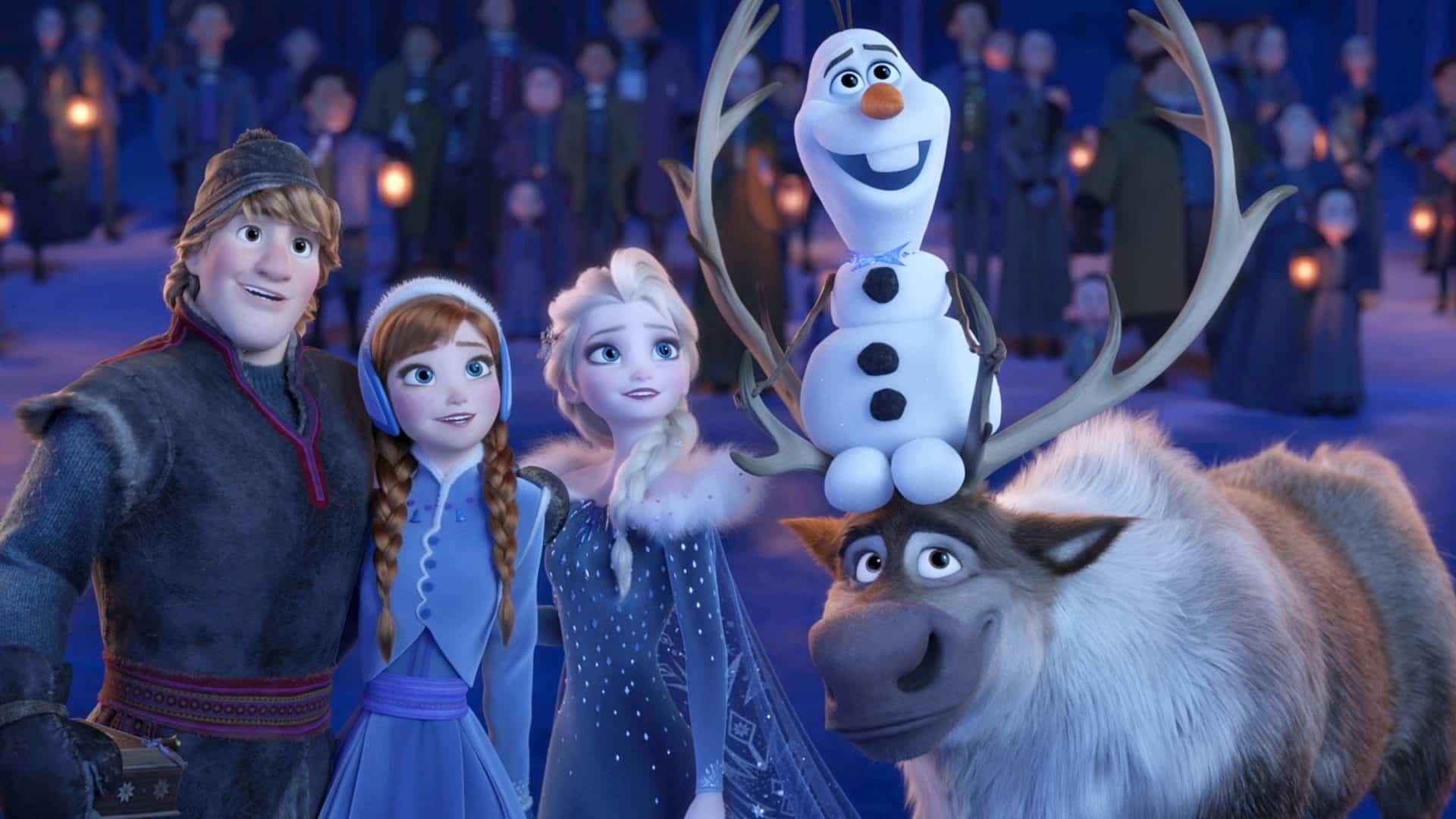 Animovaný film ľadové kráľovstvo 2