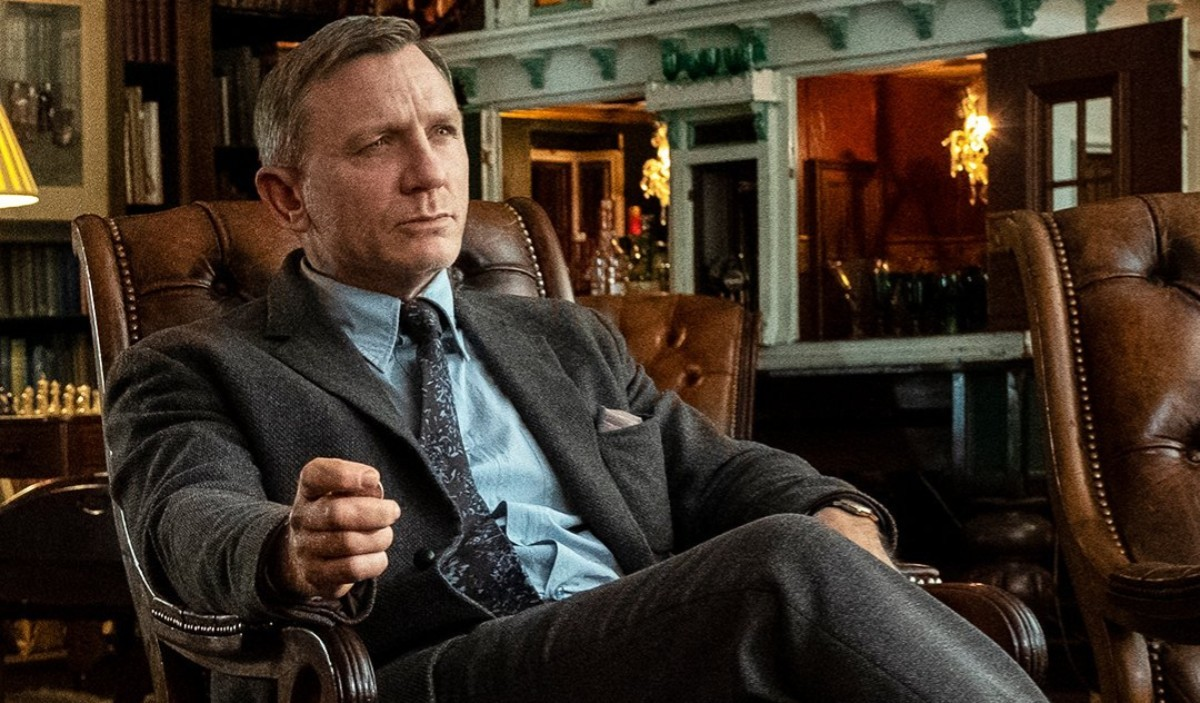 Daniel Craig Knives Out