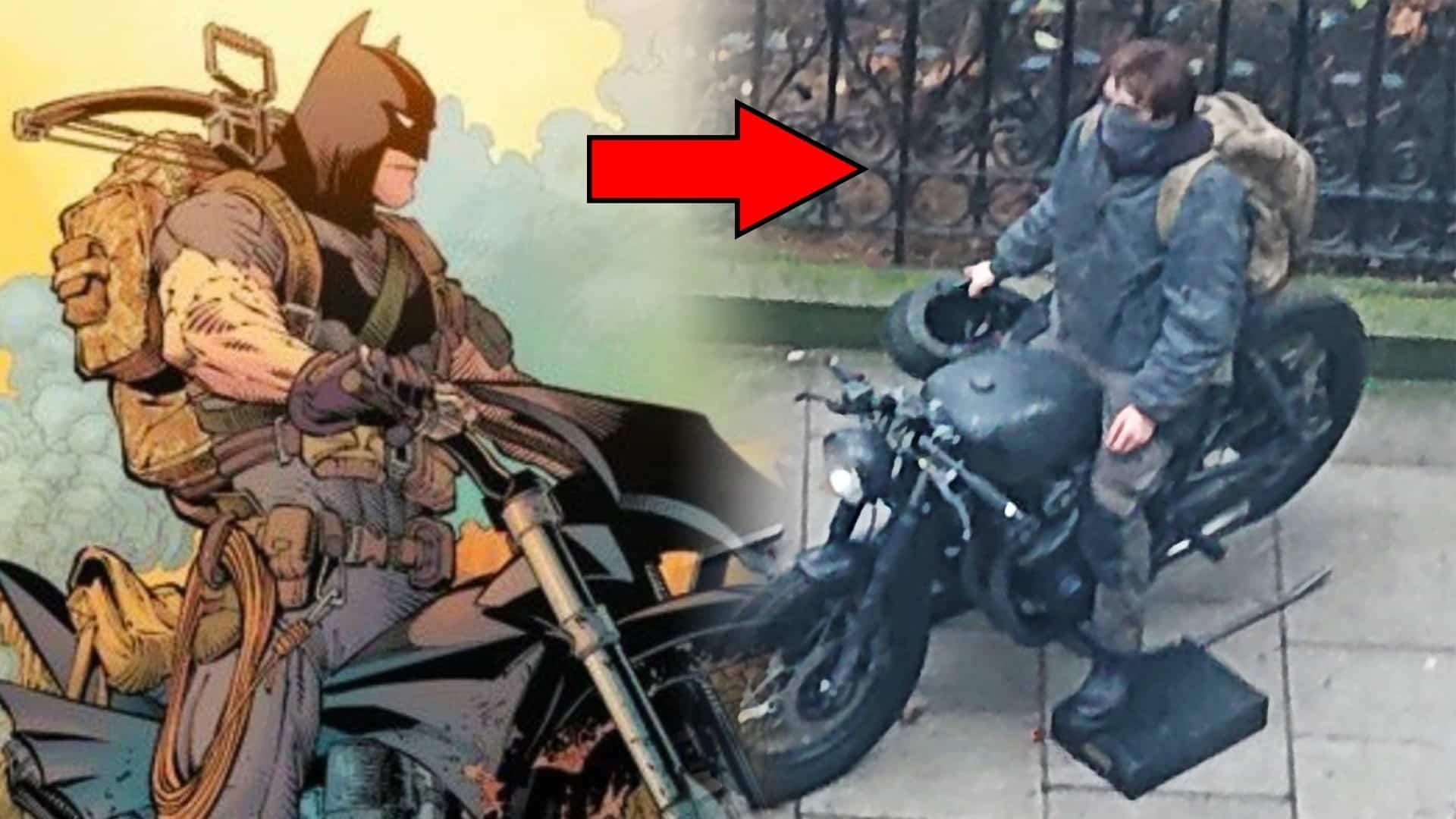 Uniknuté fotky z filmu The Batman