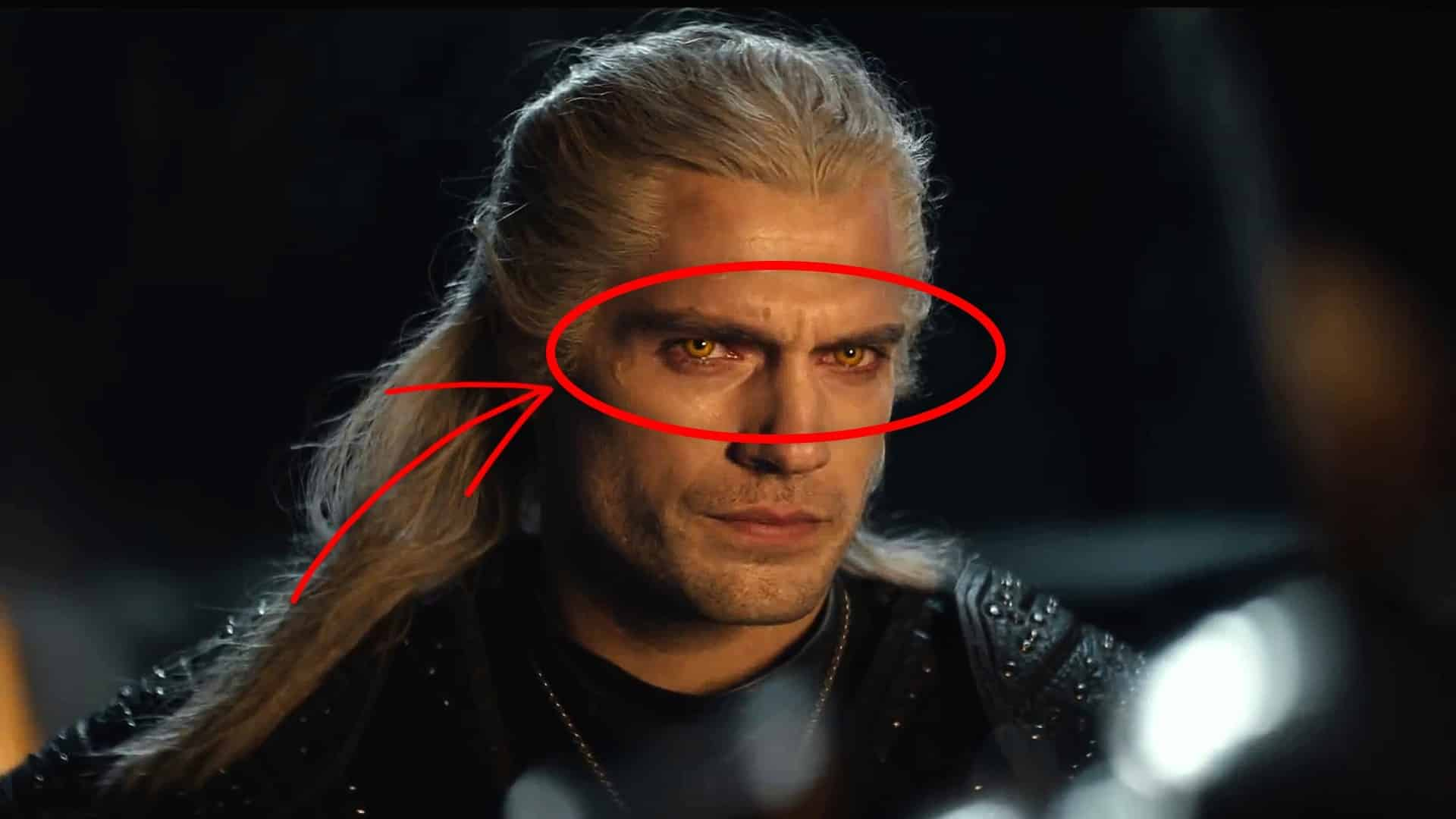 herec henry cavill the witcher