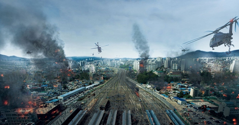 Vlak do Pusanu