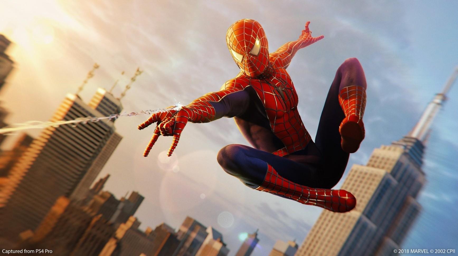 Obrázok z hry Marvel's Spider-Man na PlayStation 4
