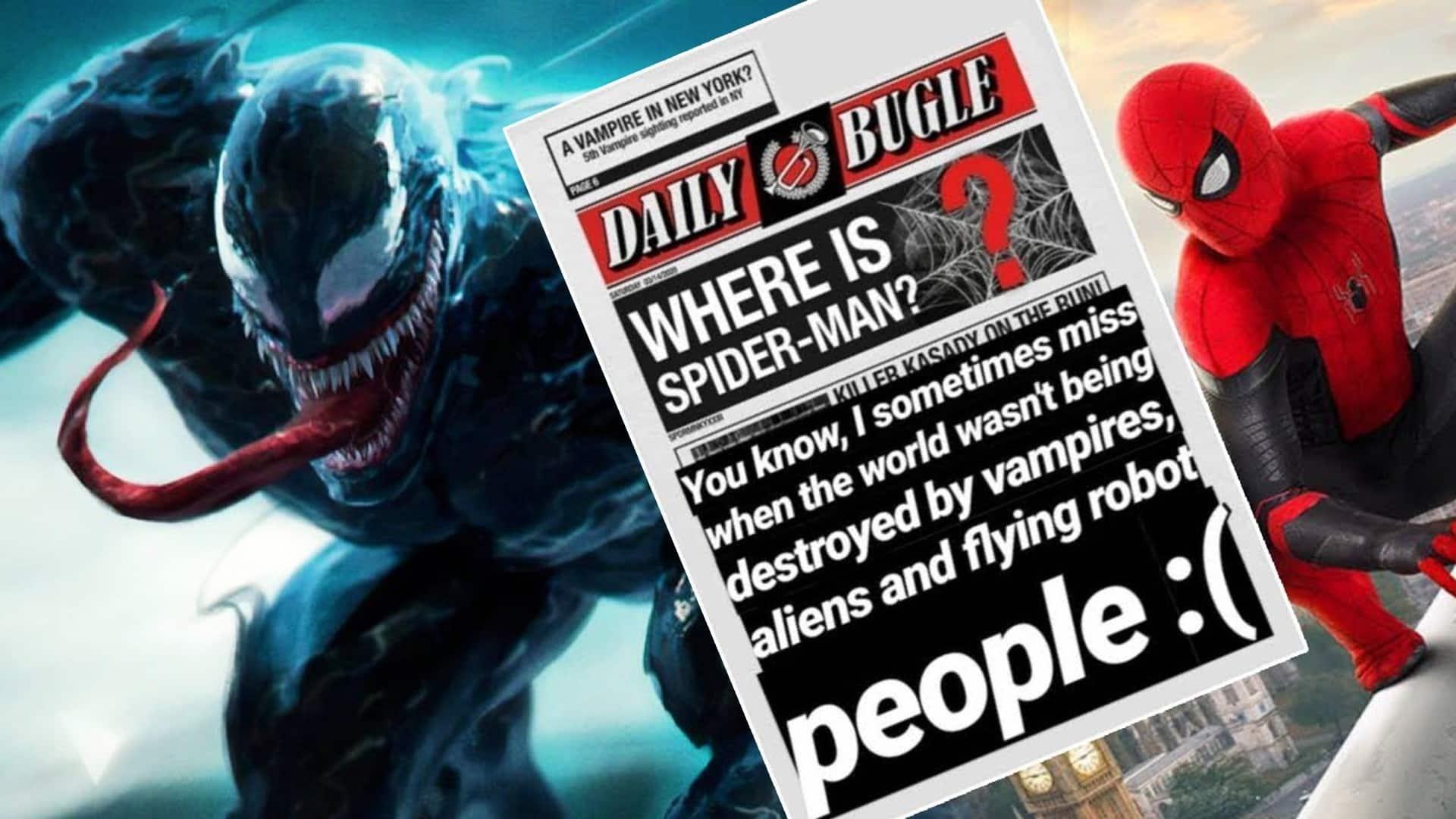 Venom a Morbius v MCU