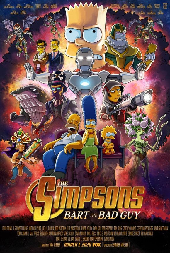 Simpsonovci MCU Endgame
