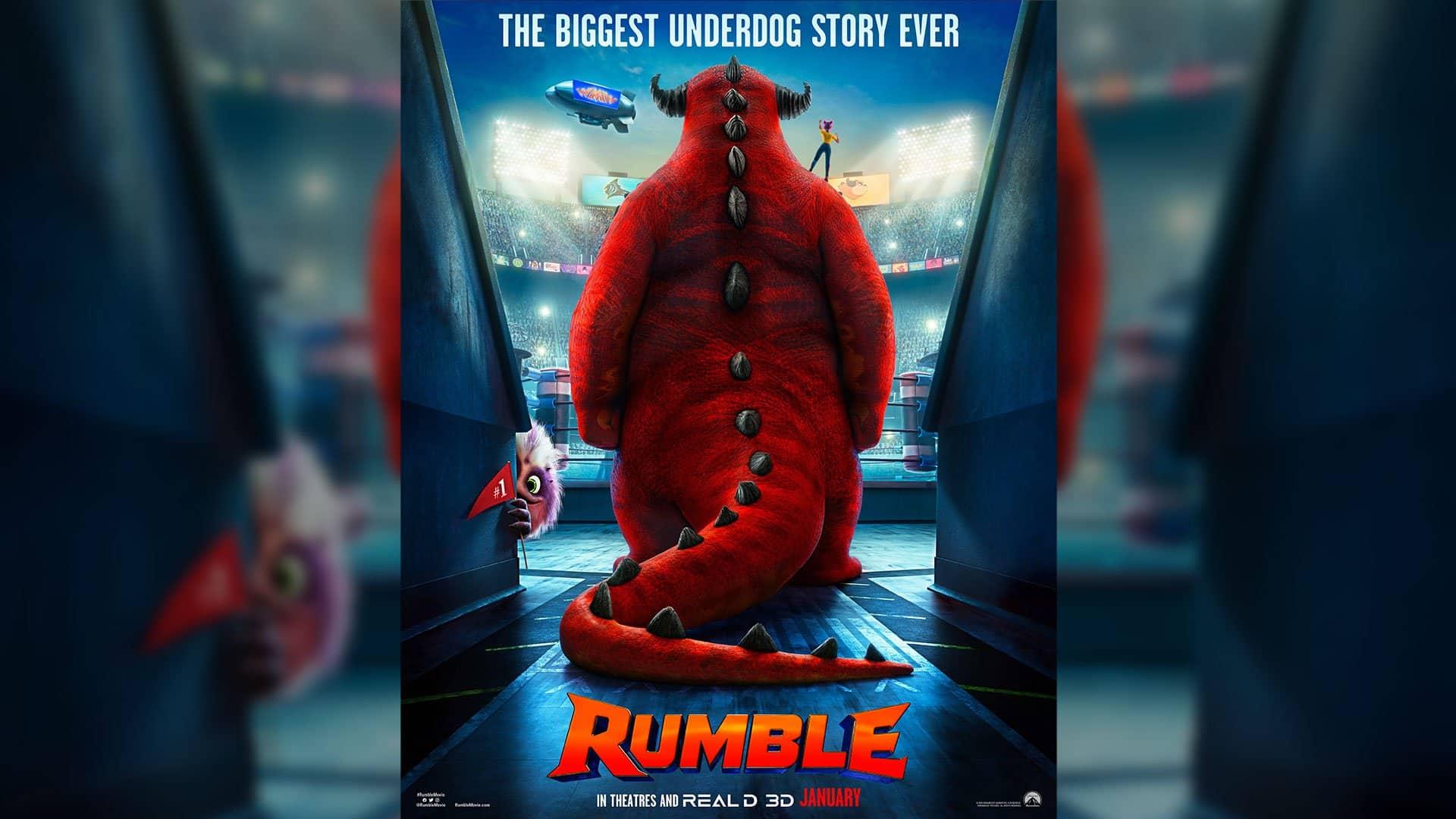 Ďalšie monštrá v rozprávke? Čo vieme o Rumble z prvého traileru.