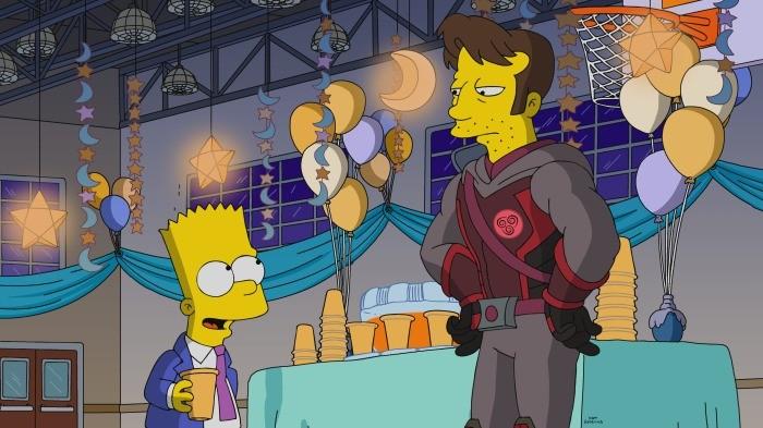 Seriál Simpsonovci MCU Endgame