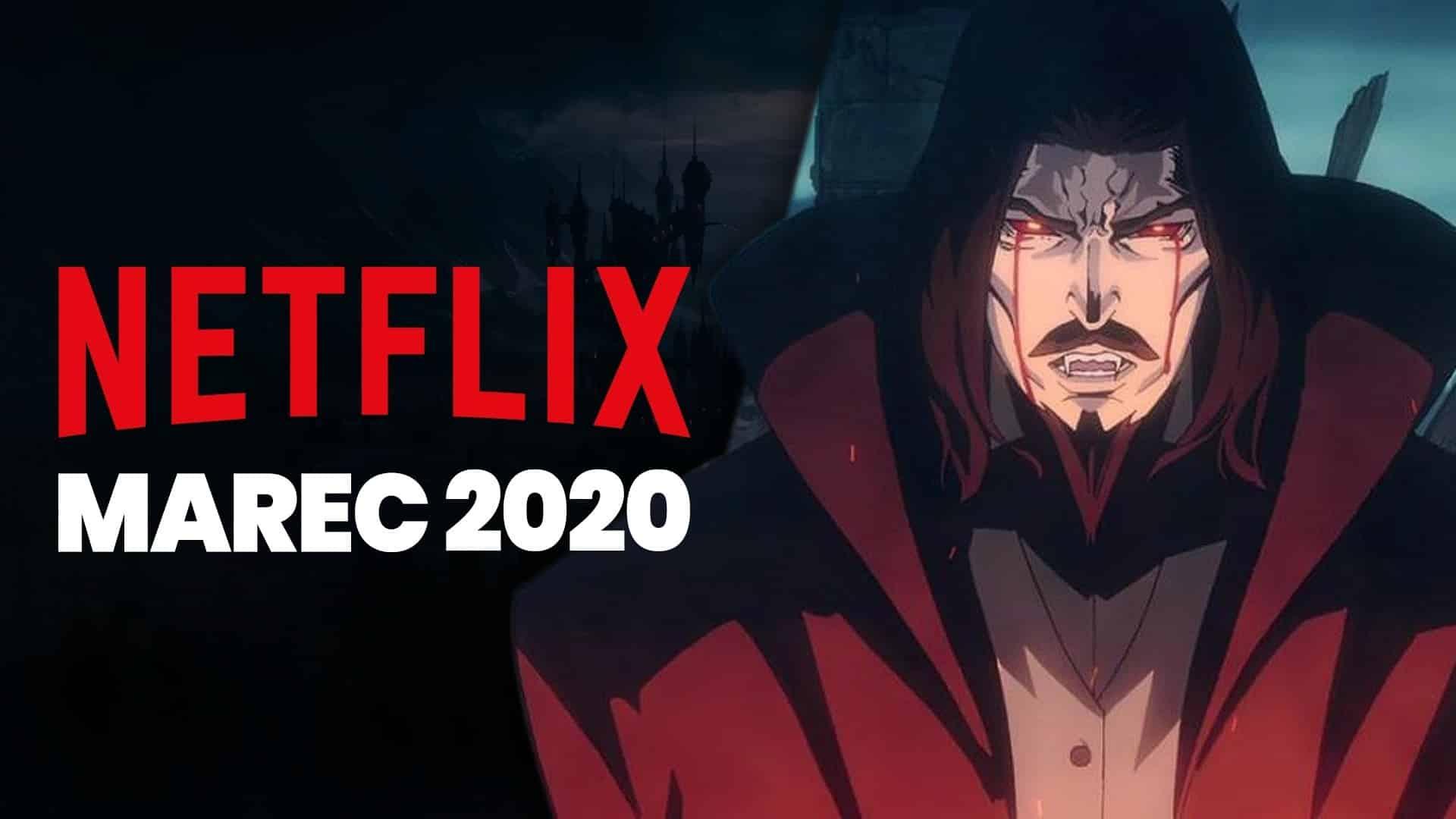 Netflix v marci 2020