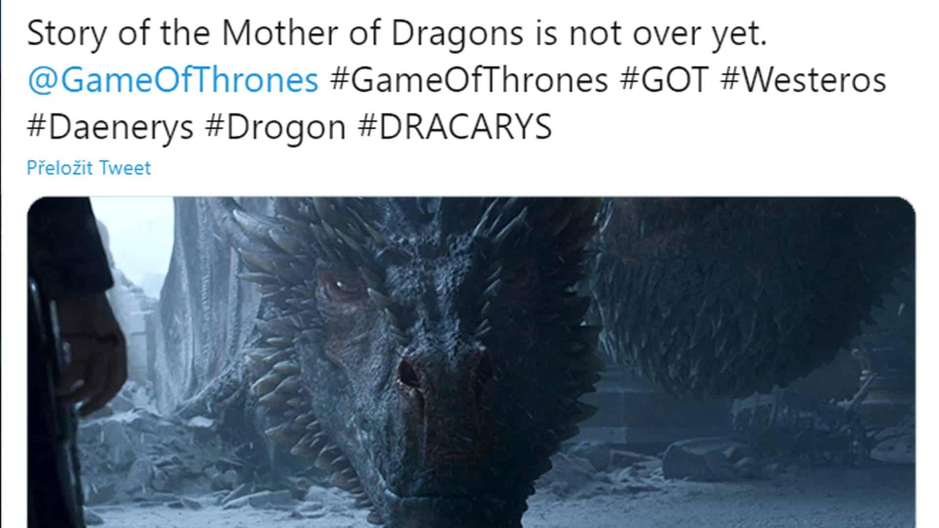 seriál Game of thrones