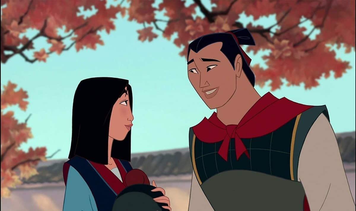 Li Shang a Mulan