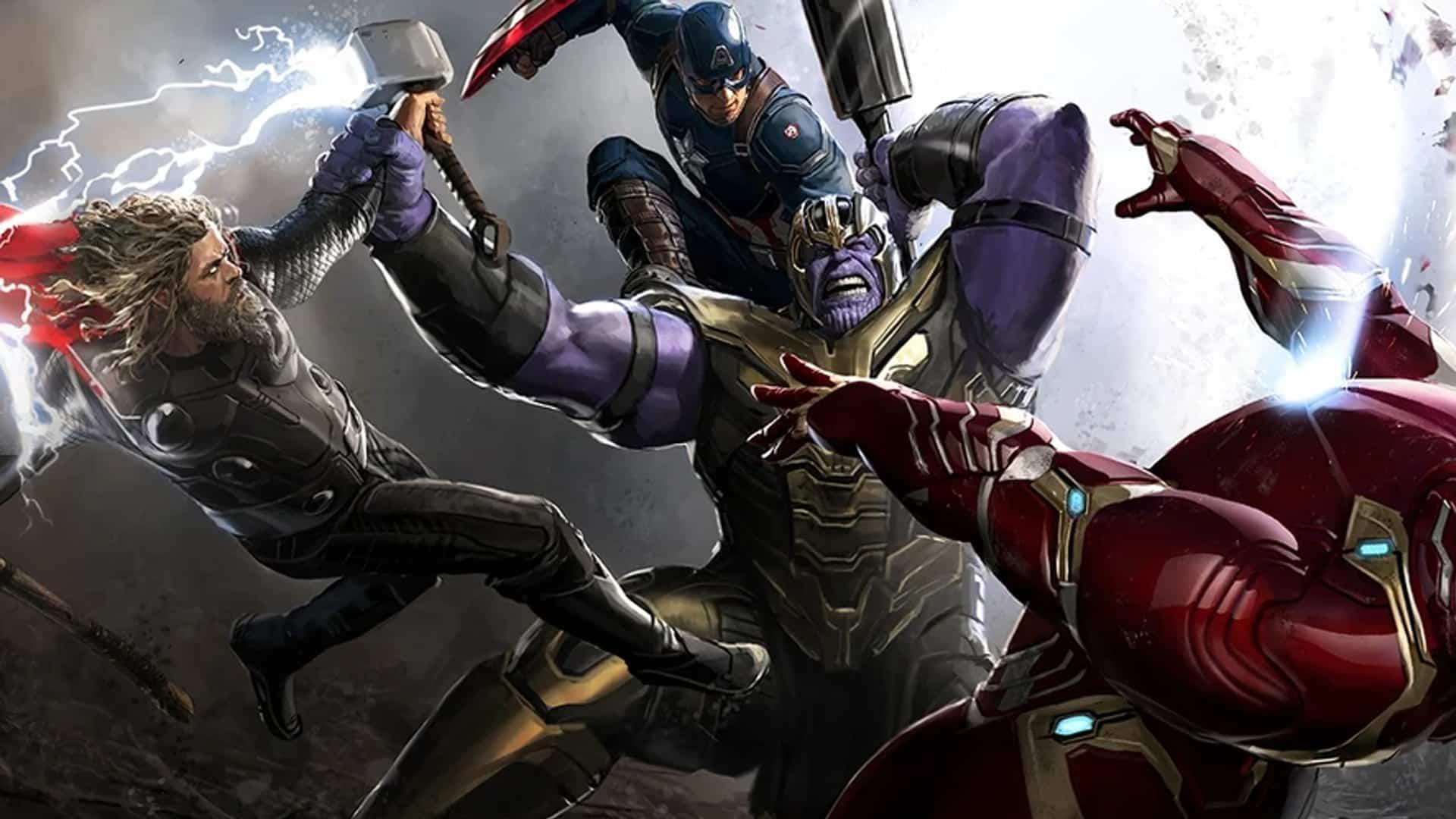 Marvel concept arts Endgame