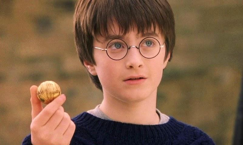 Harry Potter oči