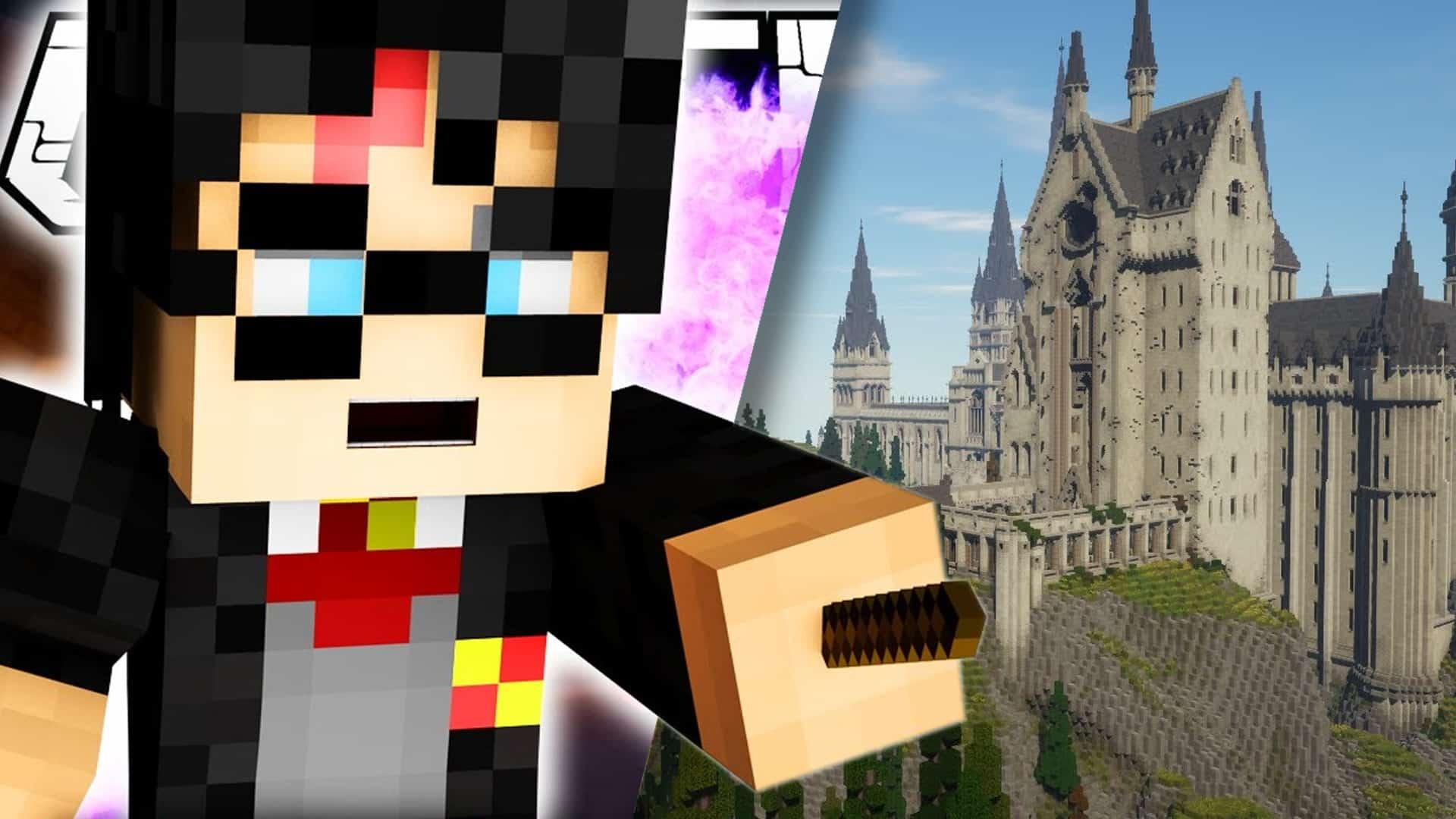 Harry Potter Minecraft mód